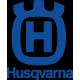 Logo Husqvarna, pignon adaptabe