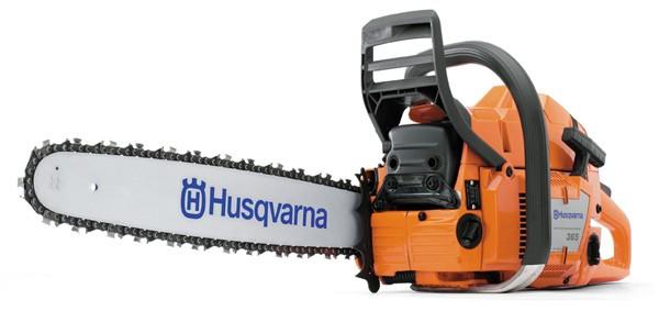 Tronçonneuse professionnelle Husqvarna 365 50SN avec deux chaînes d'origine