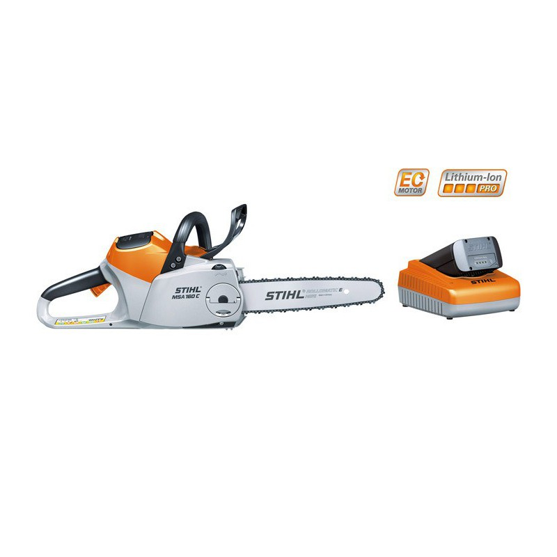 tron onneuse batterie stihl msa 160 avec batterie ap200. Black Bedroom Furniture Sets. Home Design Ideas