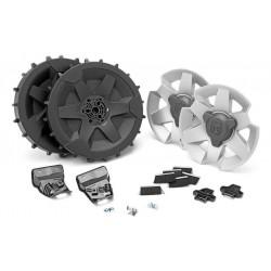 Kit roues pour terrain pentu ou accidenté 320,330X