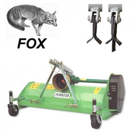 Tondeuses à fléaux arrières FOX1000 Peruzzo pour Kubota