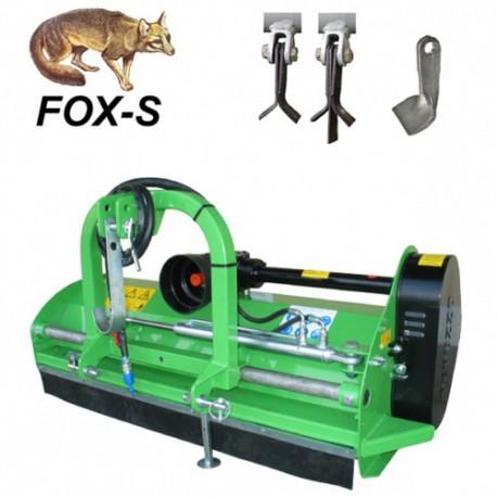 Tondeuses à fléaux arrières FOX-S 1200 Peruzzo pour Kubota