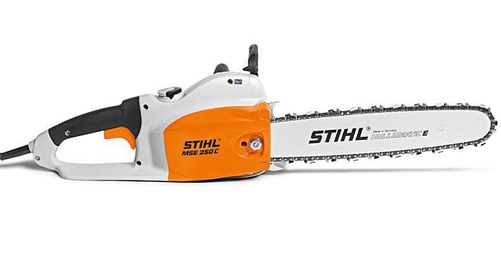 Tronçonneuse électrique Stihl mse 250 cq