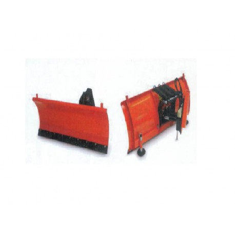 Lame chasse neige droite 125cm