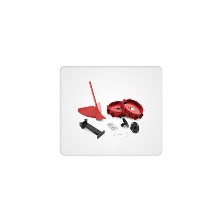 kit butteur Husqvarna avec roues métal