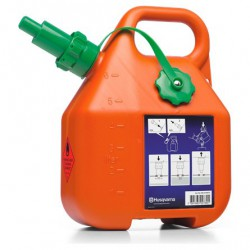 Bidon essence orange Husqvarna