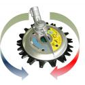 Tête de coupe rotative pour SRM265TES