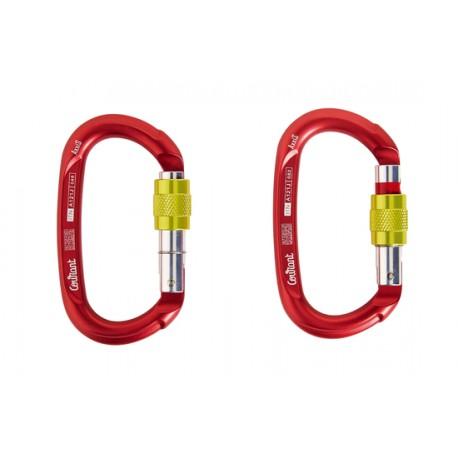 Mousqueton Ovale AXXIS Triple Lock