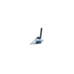 Coupe bordure pour grattoir à roue Polet