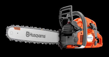 Tronçonneuse professionnelle Husqvarna 565 50SN avec 2 chaînes d'origine