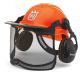 Casque forestier functional orange Husqvarna