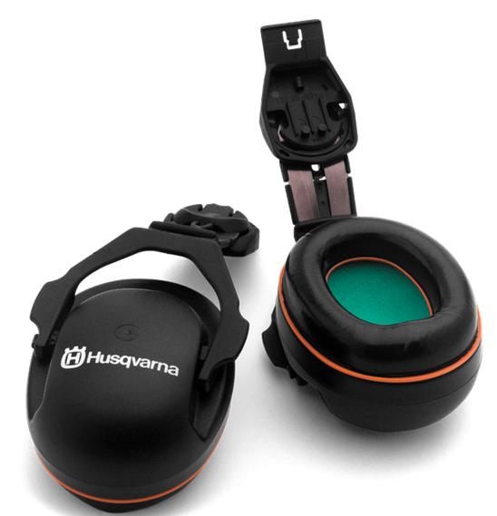 Protecteurs d'oreilles de rechange pour casque Husqvarna