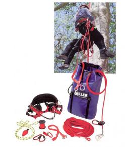 Matériel de grimpe : fausses fourches et rope guides