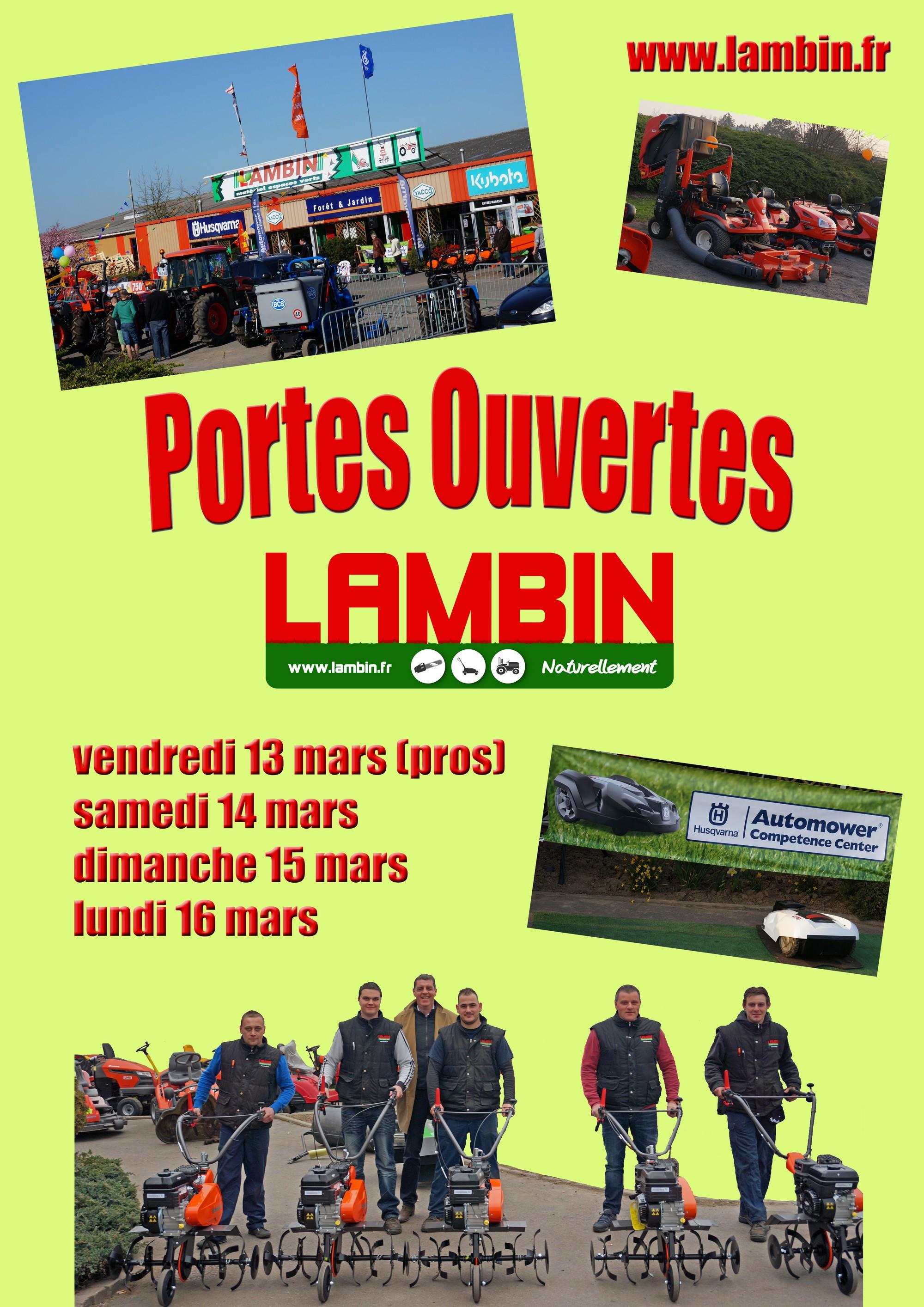 Venez assister aux portes ouvertes Lambin à Orchies et Pérenchies !