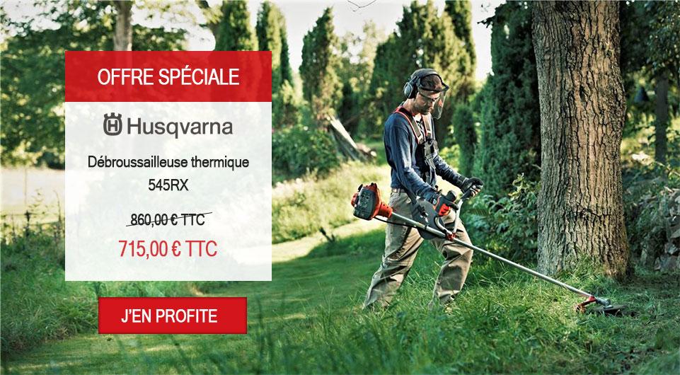 Offre promo Debroussailleuse husqvarna 545rx