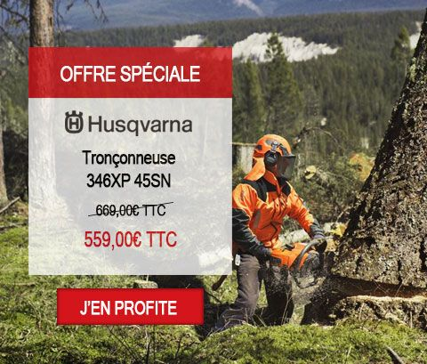 Tronçonneuse Husqvarna 346XP 45SN Nouvelle édition