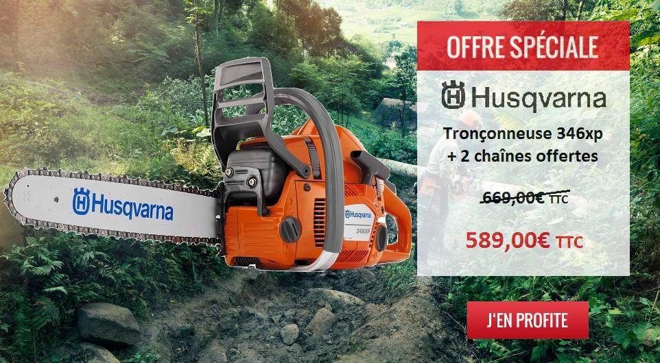 Slider HP – Husqvarna offre spéciale