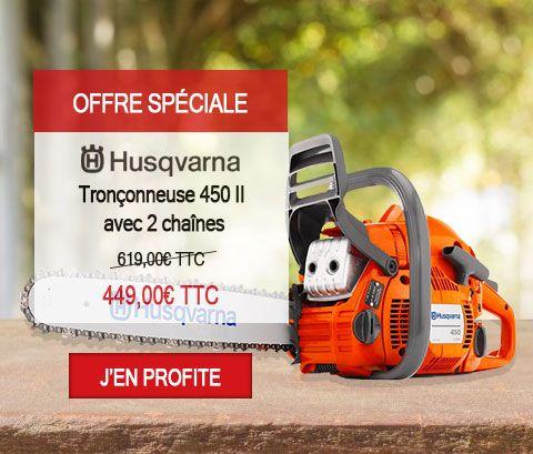 Tronçonneuse Husqvarna 450 II