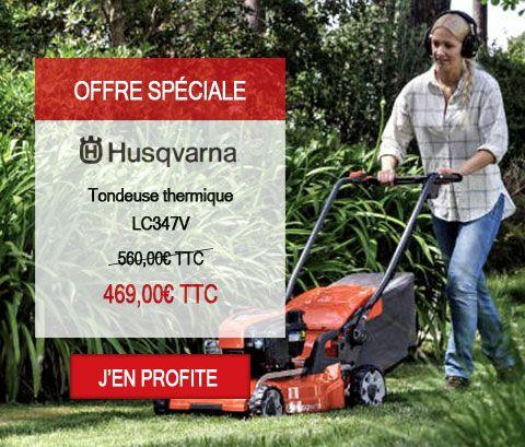 Tondeuse thermique Husqvarna LC347V