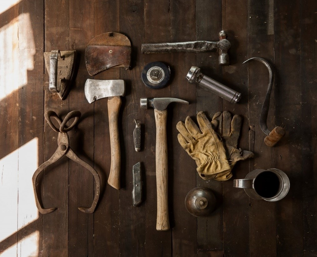 Nettoyer ses outils avant l'hiver
